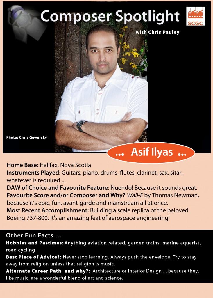 Composer Spotlight Asif Ilyas