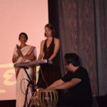 Janal Bechthold & Donald Quan performing