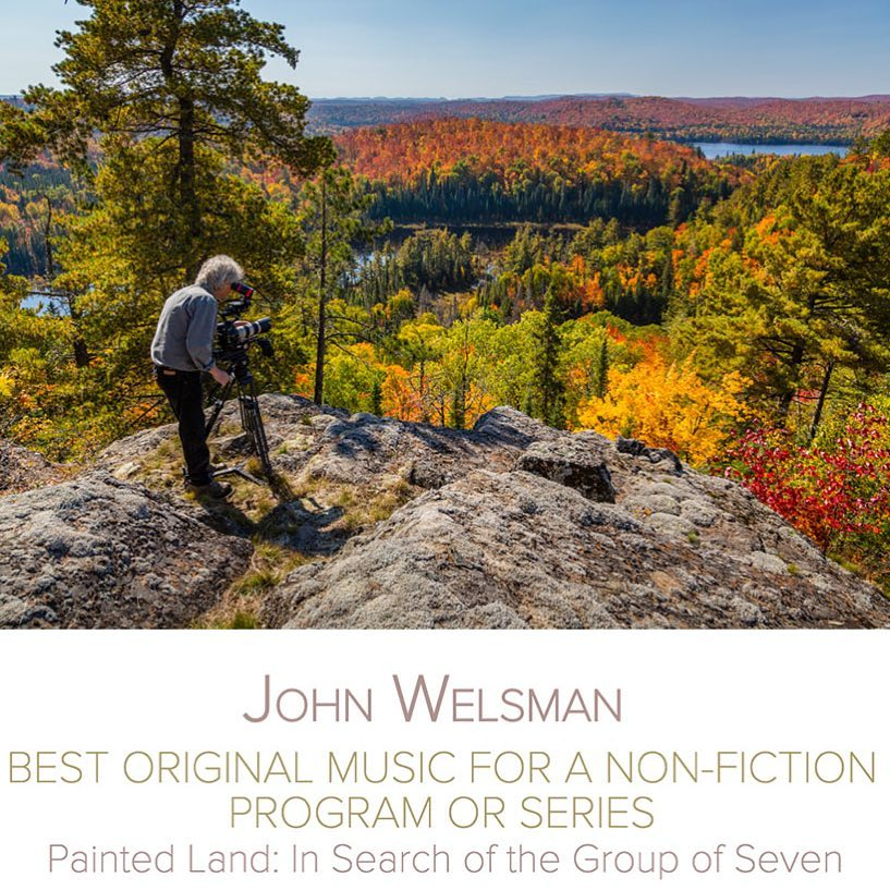 "SCGC member John Welsman has been nominated for a Canadian Screen Award in the category of ""Best Original Music for a Non-Fiction Program or Series""! The nod goes to his score for ""Painted Land:In Search of the Group of Seven""! Congratulations"