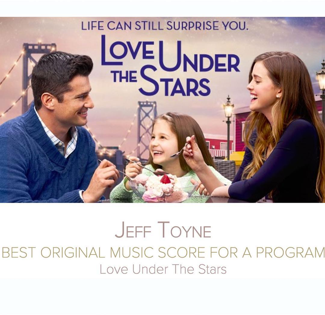 """SCGC member @jefftoyne has been nominated for a Canadian Screen Award in the category of """"Best Original Music Score For a Program"""". His score for """"Love Under the Stars"""" received the  honour. Congratulations"""