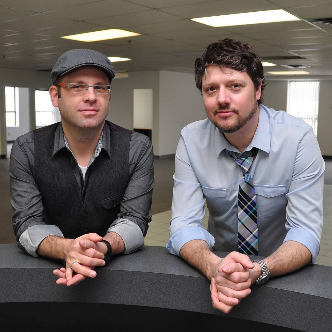 """At our Summer Social next week we will be launching the new 'Ask Me Anything' series! Derek Treffry and Greg Fisher (from FISH-FRY) are going to be joining us and answering all of your questions! . 'FISH-FRY are well known for their long-standing association with designer, Sarah Richardson, having composed the music for """"Design Inc."""", """"Sarah's House"""", """"Sarah 101″ and most recently, """"Real Potential"""". Some of their other notable series include: """"Border Security: Canada's Front Line"""" for National Geographic and """"House of Bryan 3: In The Sticks"""" on HGTV. Recently, Greg and Derek have continued their work with Discovery Channel, providing music for the second season of """"MegaSpeed"""".' . You can check out their website here: http://fish-fry.com/"""