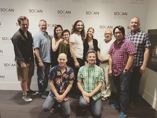 SOCAN and the SCGC hosted this year's Slaight Music Residents at the Canadian Film Centre in SOCAN's new Harmony Lounge, allowing the new residents to meet with SOCAN staff and SCGC board members! . Through his work as the SCGC VP Darren Fung organized this meet and greet. Thank you